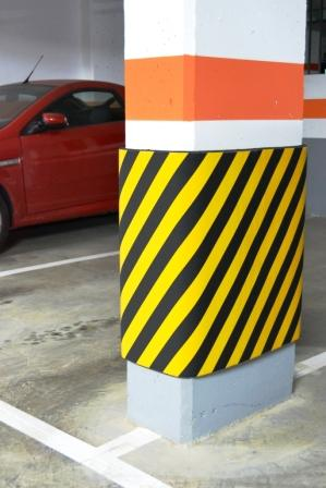 Rammschutz kunststoff honerkamp facilityprotection gmbh for Cepos para plazas de garaje